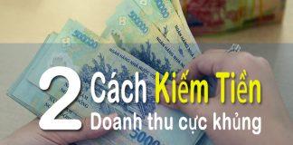 2 cach kiem tien online doanh thu cuc khung -blog adpia