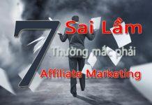 7 sai lam cua Affiliate Marketing 2