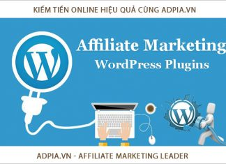 su dung plugins wordpress kiem tien voi affiliate marketing