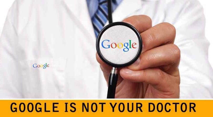"""7 lý do tại sao bạn không nên bắt bệnh theo """"bác sĩ Google"""""""